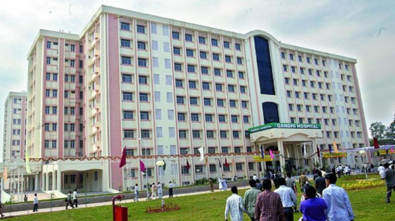 Diagnostic centre launches at Gandhi hospital