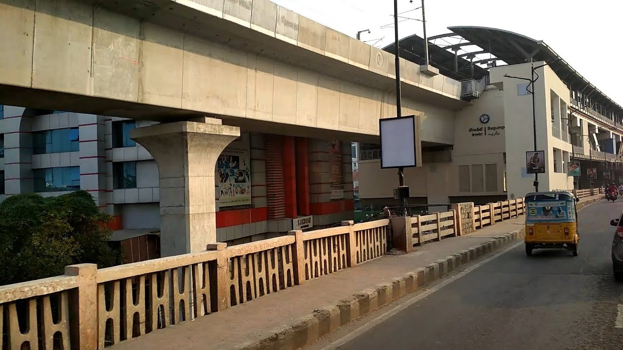 Begumpet Metro Station closed