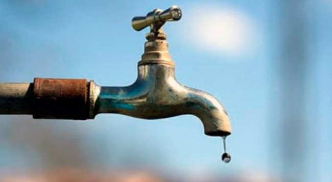 No water supply on Jan 4 & 5