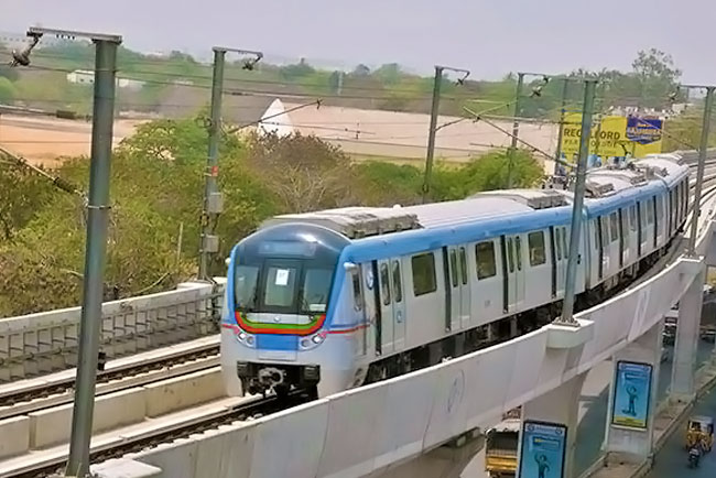 Hitec City metro to be flagged off tomorrow