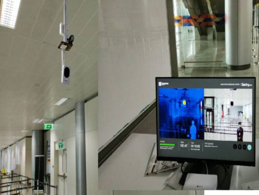 New thermal scanner installed at RGIA,Hyderabad