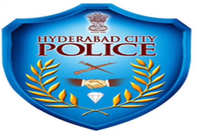 Hyderabad Police using public address system