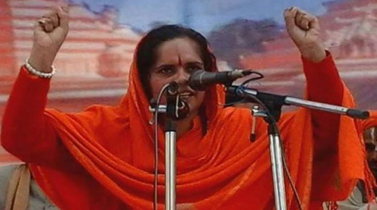 Sadhvi Prachi warns against offering Namaz on roads