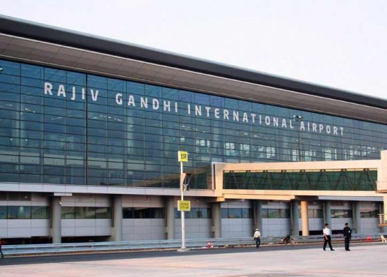 RGIA airport ban entry of visitors