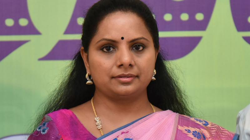 K Kavitha emphasises the need for women supporting each other at every juncture and field to progress together