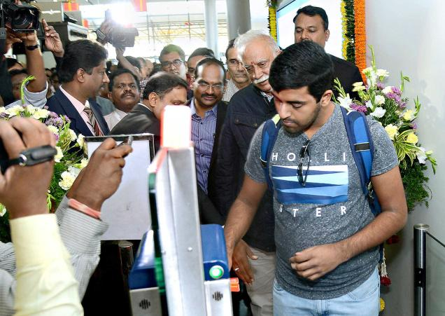 Rajiv Gandhi International Airport launches E-boarding facility