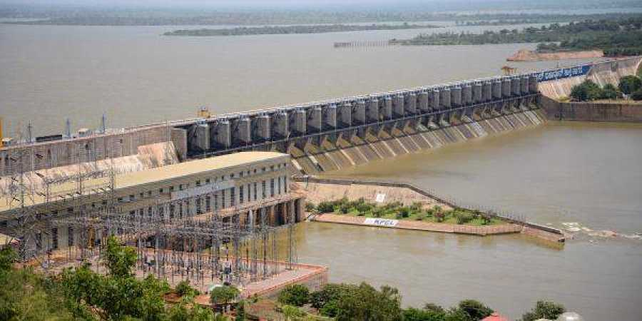 Krishna water reaches Jurala project