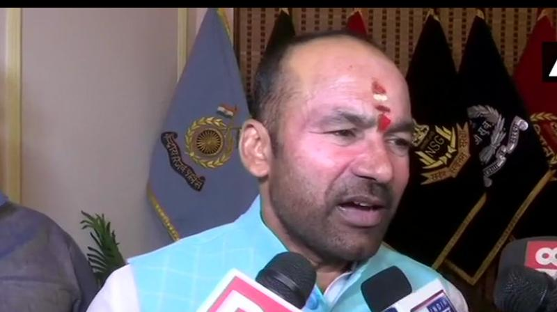 MoS G.Kishan Reddy receives threat calls