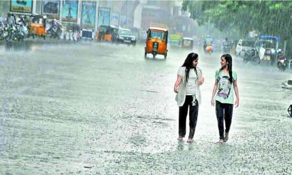 Telangana witnesses rain for third consecutive day