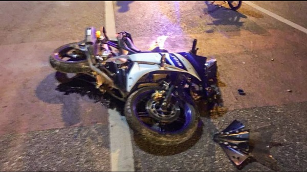One killed after bike skidded in Moinabad late night on Friday.