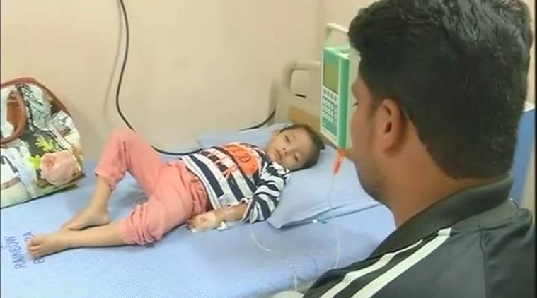 Hyderabad: Three-year-old girl cries 'tears of blood', father looks towards KCR, PM Modi for help