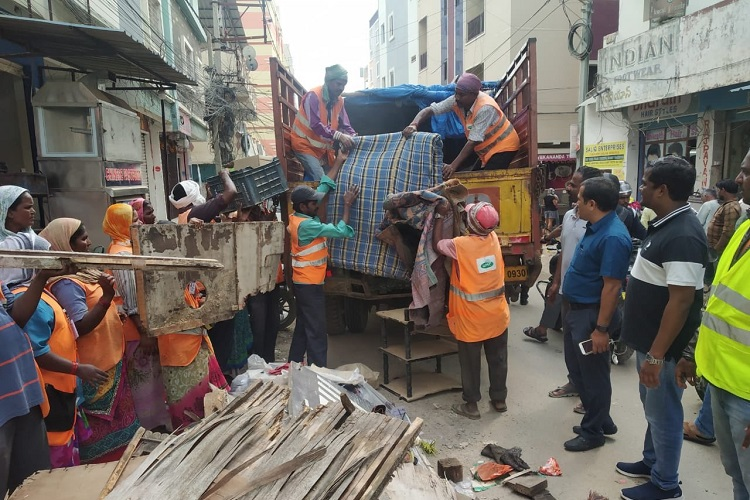 GHMC begins special sanitation drive