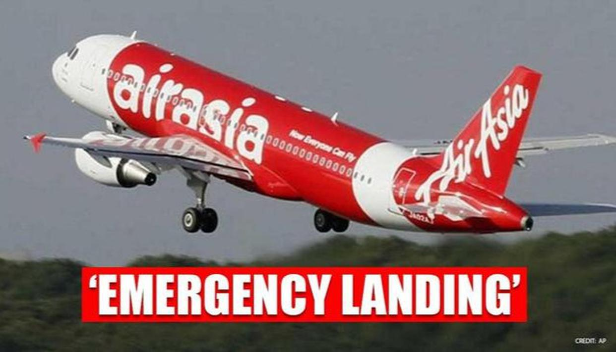 AirAsia flight makes emergency landing at Hyderabad airport