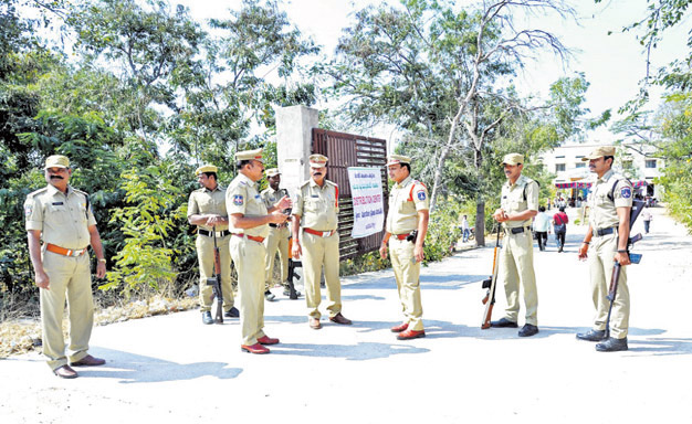 Over 50,000 policemen deployed for Municipal Polls across Telangana