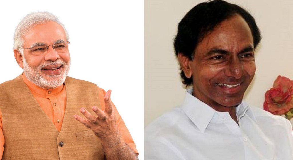 PM Modi greets Telangana CM on birthday