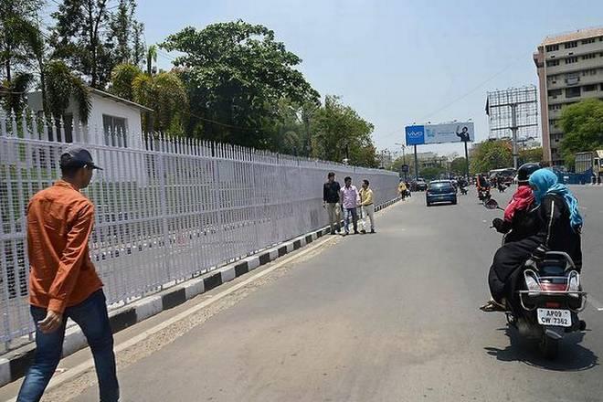 Polymer modified bitumen roads laid near Hyderabad Race Club