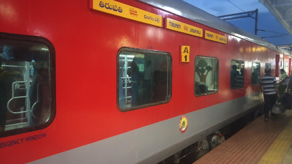 New LHB coaches for Narayanadri Express