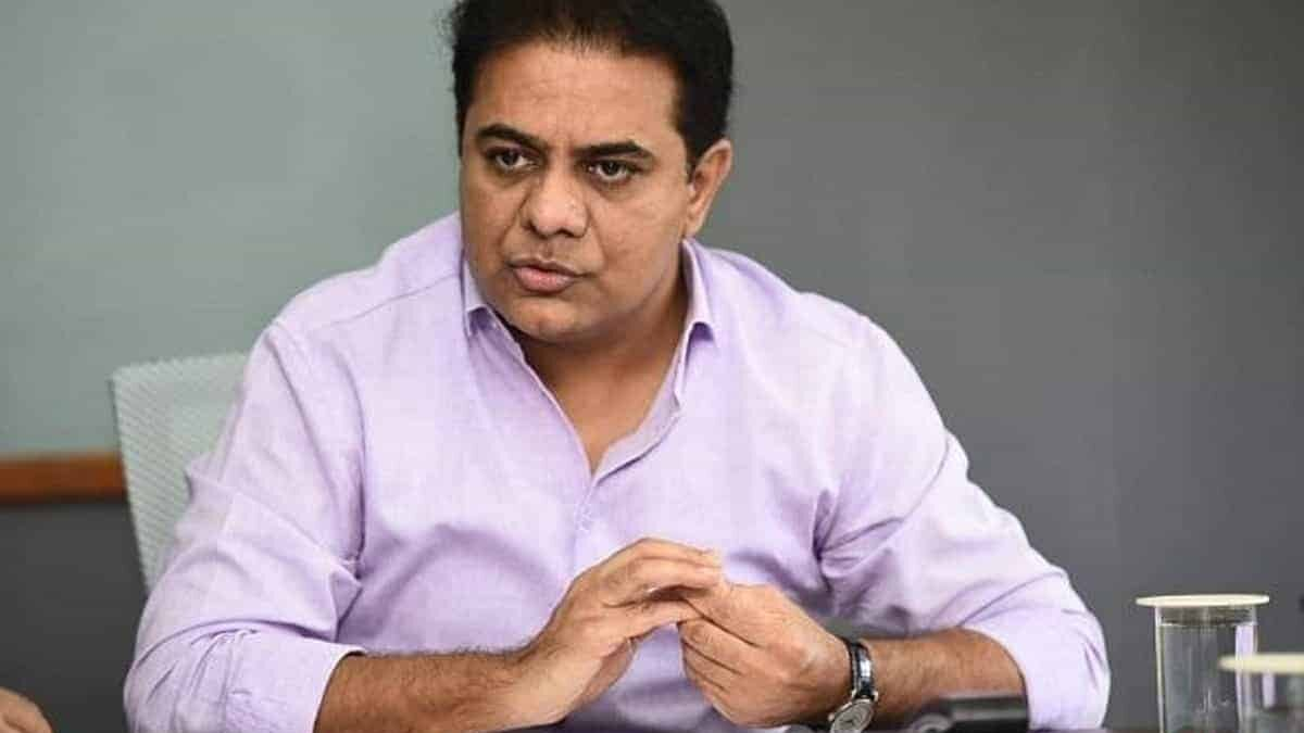 Opposition parties should stop mudslinging against the State government: K T Rama Rao