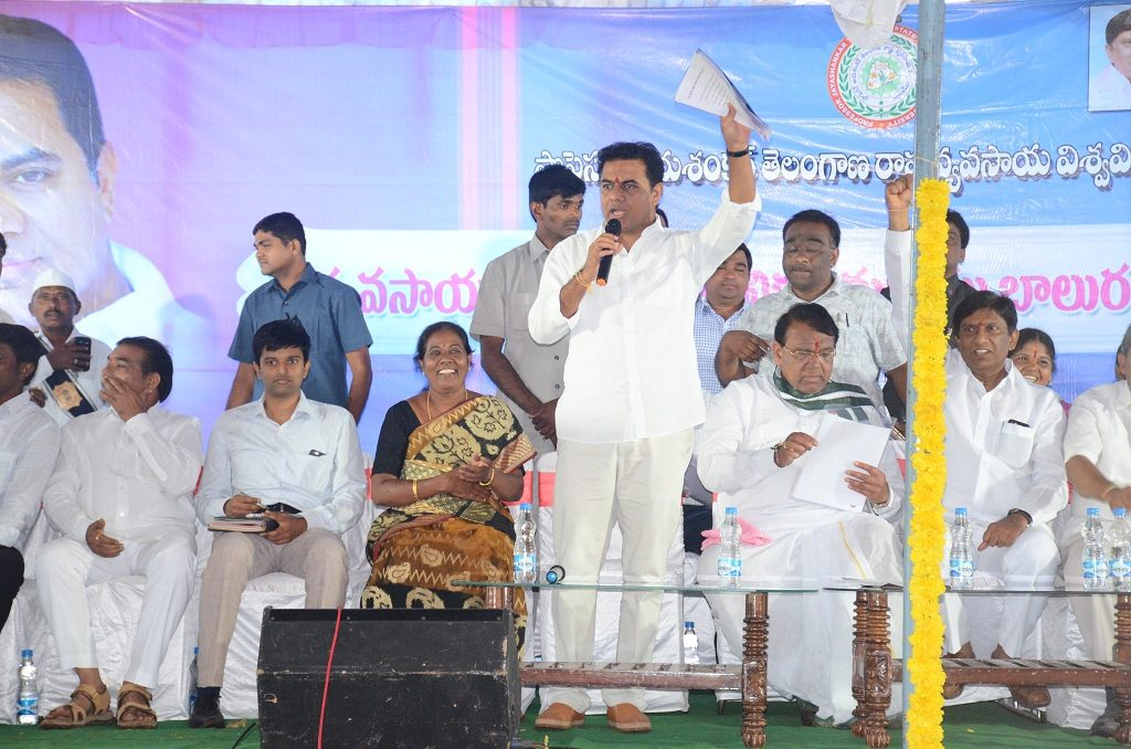 Journalists will get Houses, Health Cards: K T Rama Rao