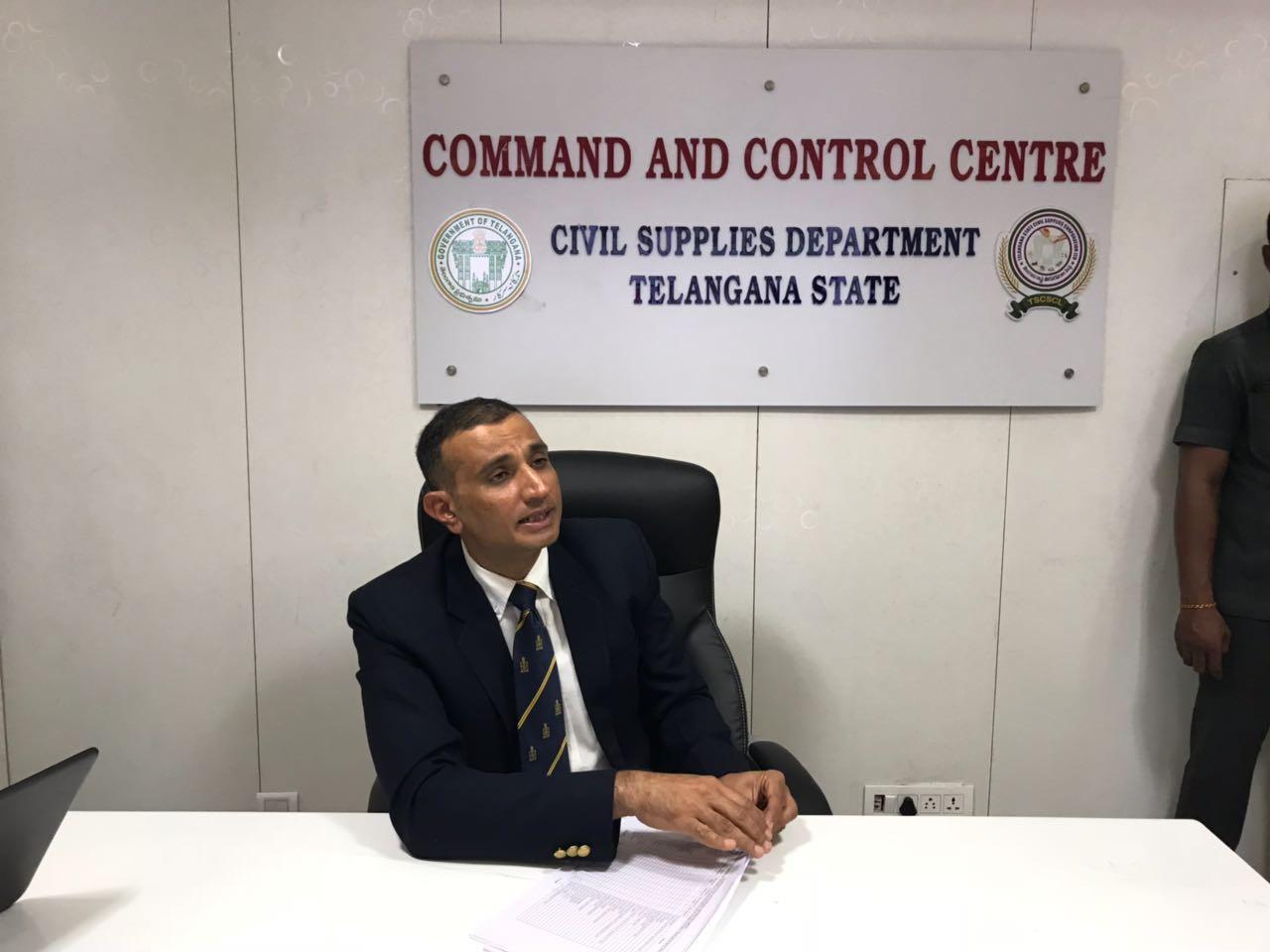 Akun Sabharwal assumes charge as Civil Supplies Commissioner