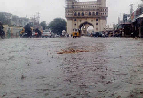 Charminar recorded highest rainfall from June 1 to Oct 20