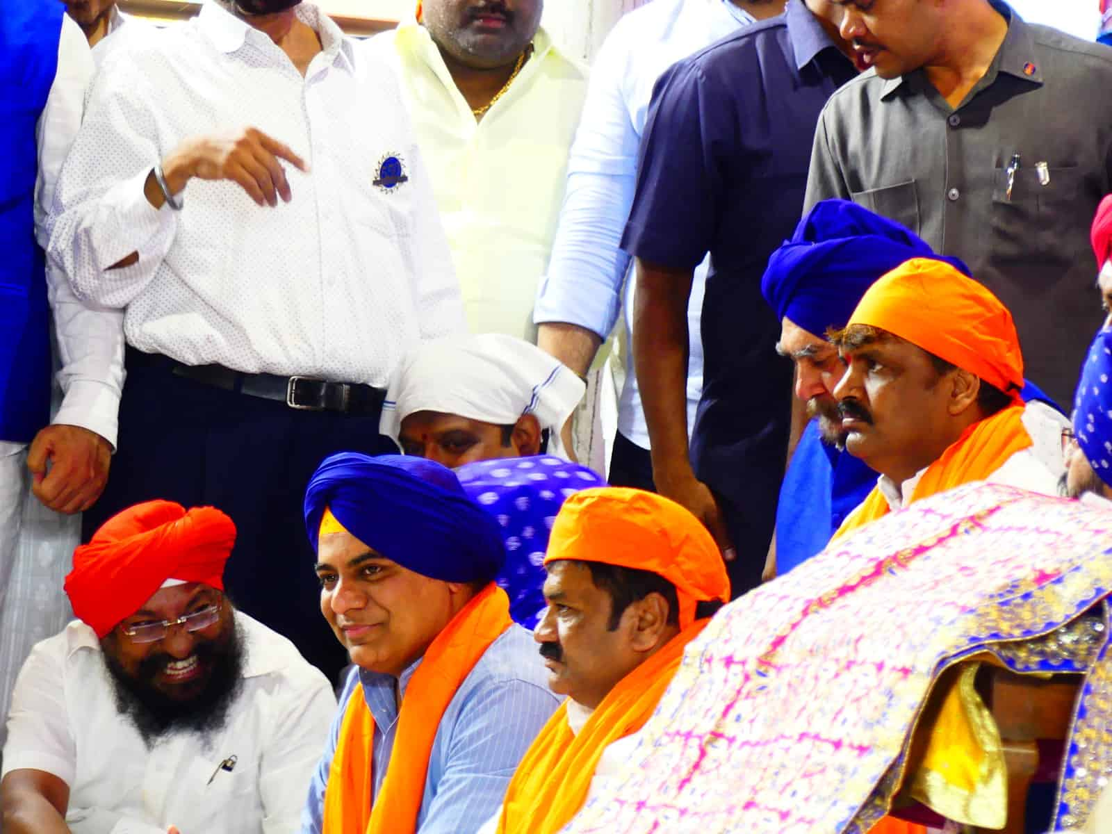 State government would extend all necessary support to the Sikh community: KTR