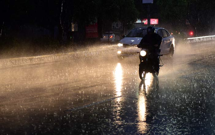 Hyderabad receives surplus rainfall