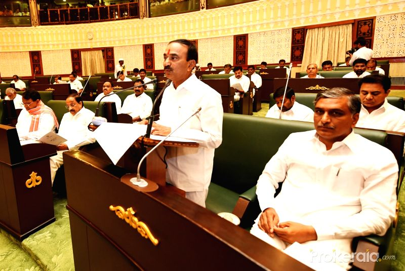 Telangana Finance Minister Etala Rajender presents budget for 2018-19