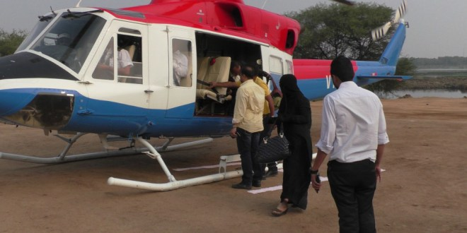 Helicopter ride for tourists from Aug 10