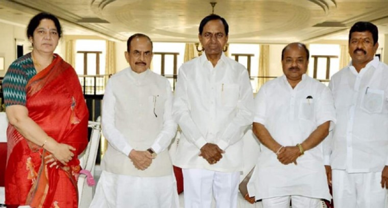 4 TRS candidates file nomination for MLC poll