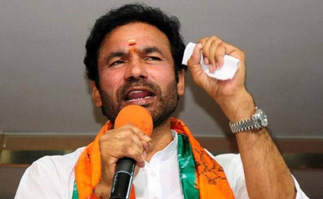 SHE teams should book KCR: Kishan Reddy