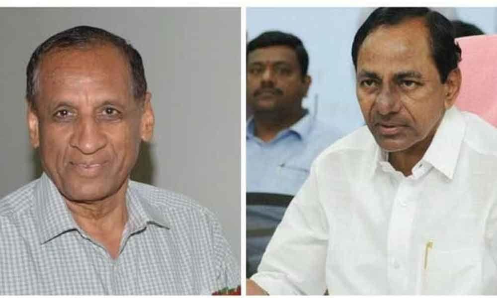 ESL Narsimhan, KCR greets on Janmashtami