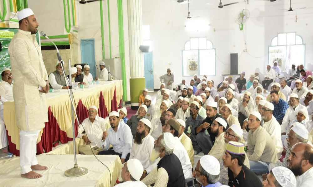 Haj orientation camp held at Yousufguda, Hyderabad