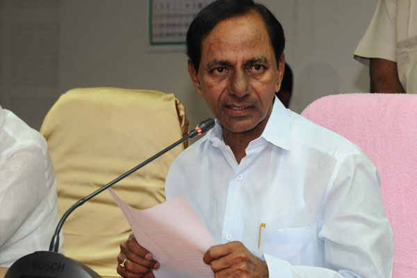 Not a single person in the State would go to bed on an empty stomach: KCR