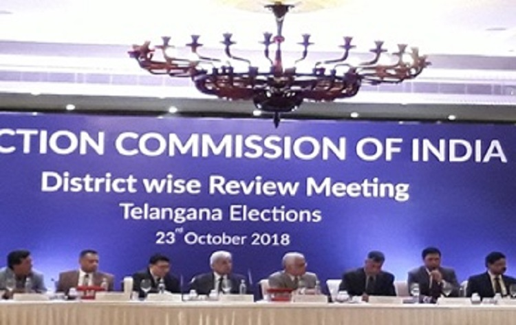 Election Commission of India is committed to ensuring free, fair and transparent Assembly elections in Telangana: OP Rawat