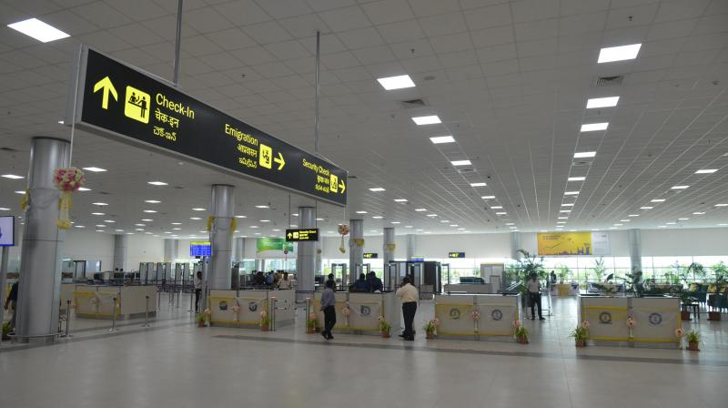 Domestic flight resumes at RGIA airport