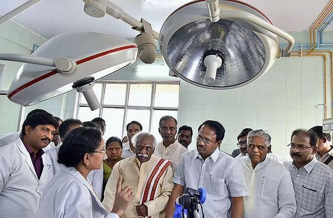 Infertility unit launches at Gandhi Hospital