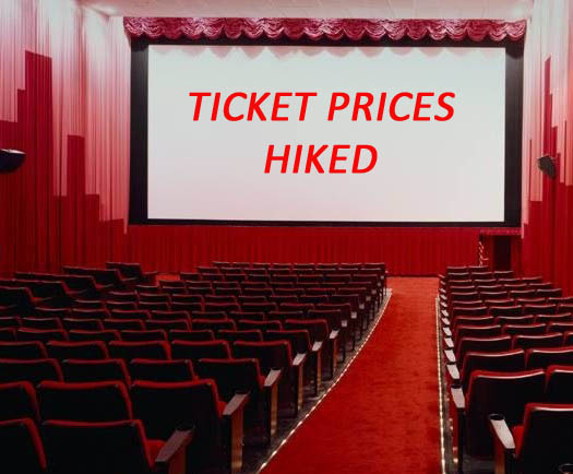 Cinema ticket prices hiked in Telangana