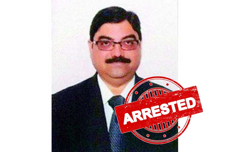 Telangana district judge arrested for corruption charges