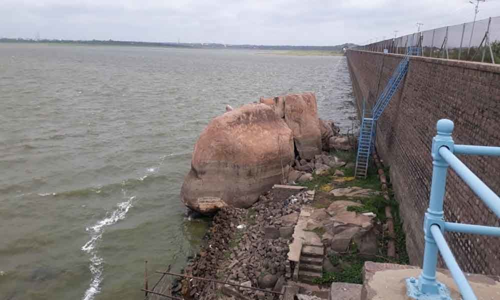 Water level in Osman Sagar and Himayat Sagar reservoirs rises
