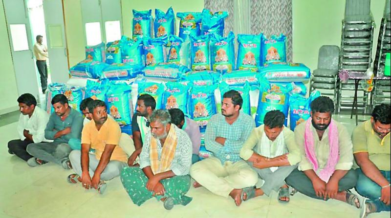 Telangana: Police seize 33 quintals of fake cotton seeds, 13 held