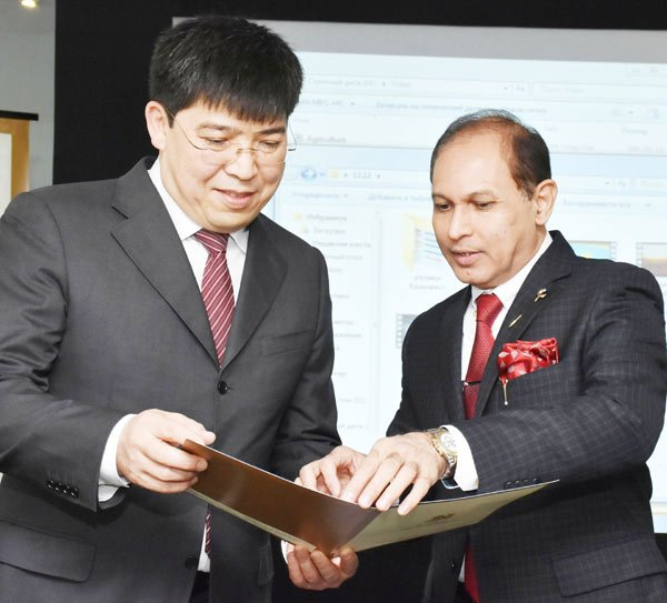 Kazakh delegation visits Hyderabad