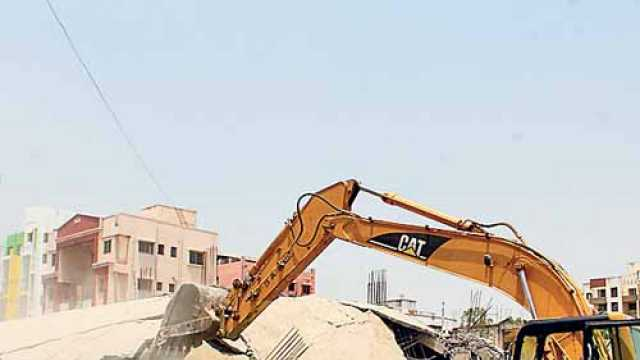Regularisation of illegal constructions date extended