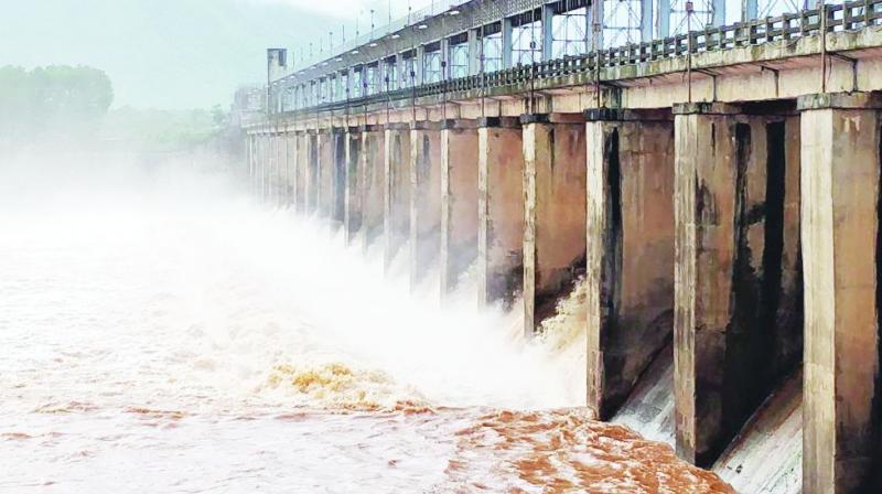 Krishna, Godavari bring copious water to Telangana projects