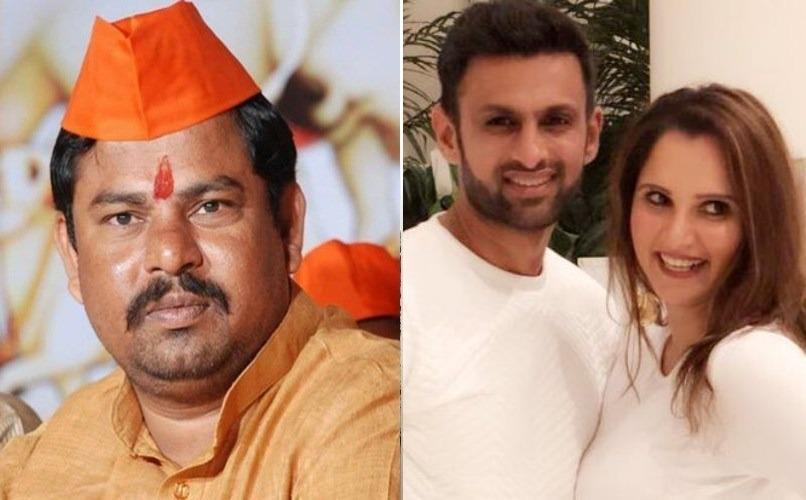 BJP MLA Raja Singh targets Sania Mirza, warns Shoaib Malik