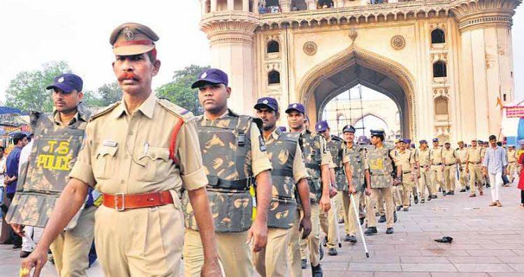babrimasjiddemolitionanniversary:policeonhighalertinhyderabad