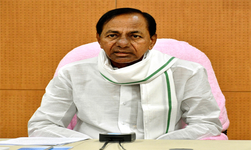 KCR pays rich tributes to police martyrs
