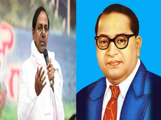CM KCR pays rich tributes to DR. BR Ambedkar