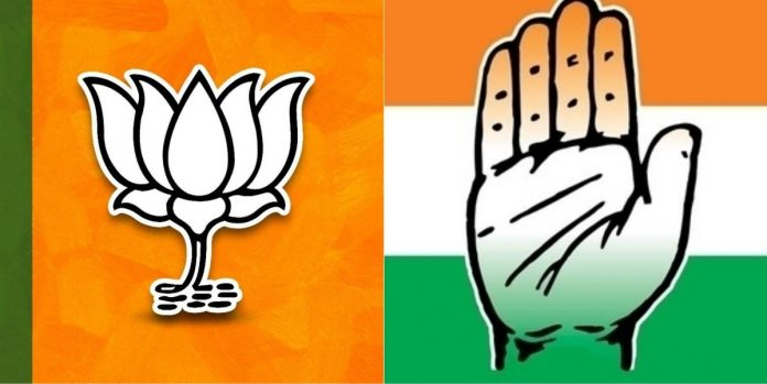 BJP, Congress leads in four constituencies each in Telangana