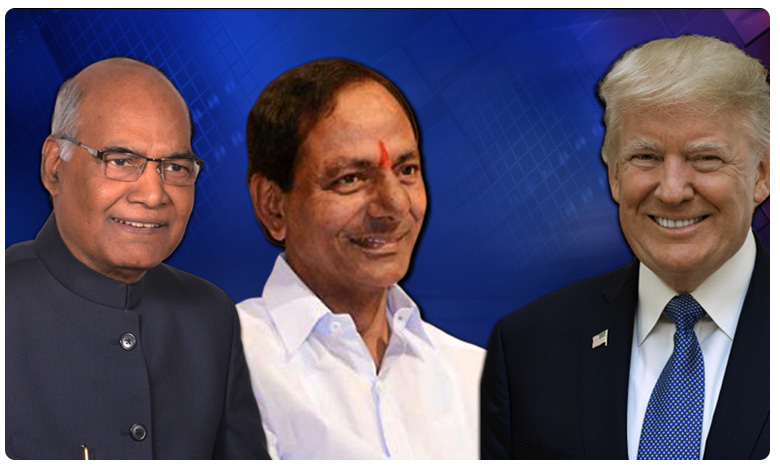 KCR to attend dinner in Honour of Trump at Rashtrapati Bhavan on feb 25